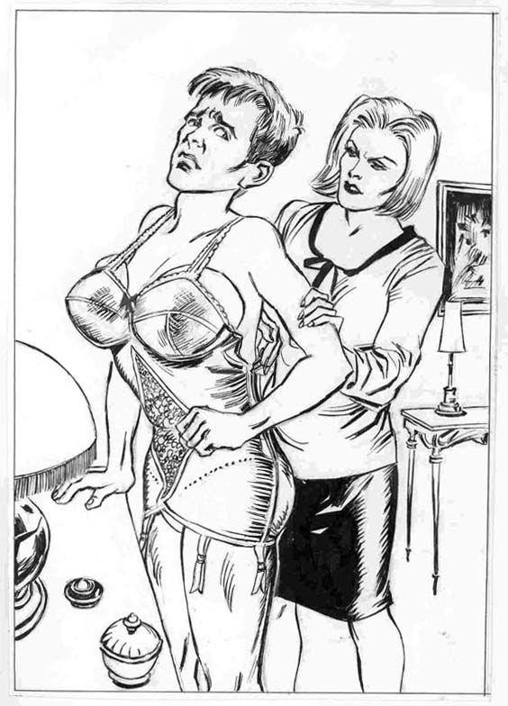 sex tegneserier fem dom