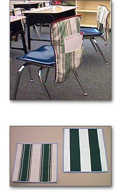 Chair pockets creative awnings inc classroom inspirations pinterest chair pockets and