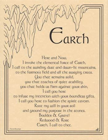 Wicca Gatherings earth
