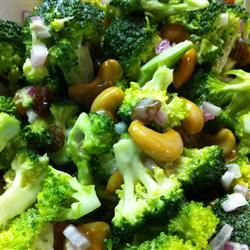 "Broccoli Cashew Salad | ""I've been buying a salad like this at the supermarket, and was hoping to find the recipe. It's wonderful!"" -- Charlotte Grey"