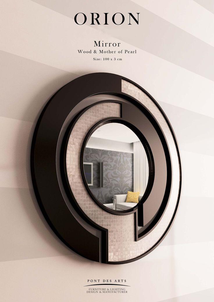 Orion Mirror - Designer Monzer Hammoud - Pont des Arts Studio- Paris