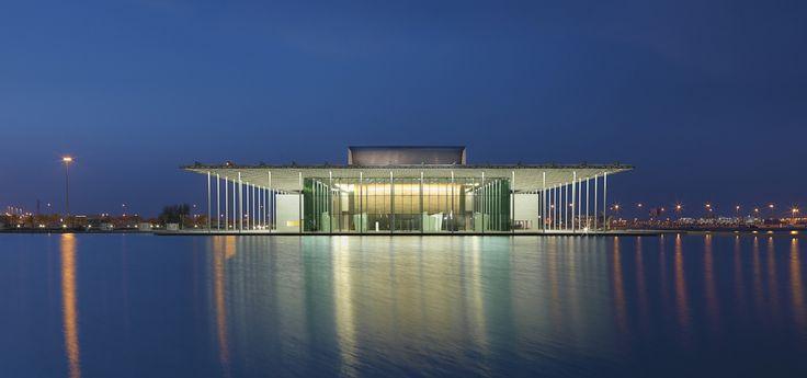 Théâtre National de Bahreïn   AS.ARCHITECTURE-STUDIO