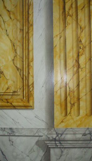267 best Faux marble images on Pinterest   Dupes, Marble painting ...