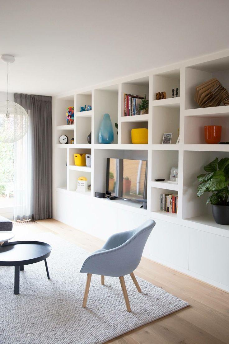 349 best salon bibliotheque images on Pinterest | Living room ...