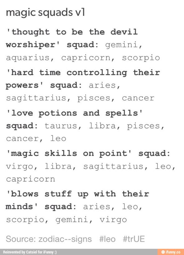 zodiac signs tumblr text posts - Google Search