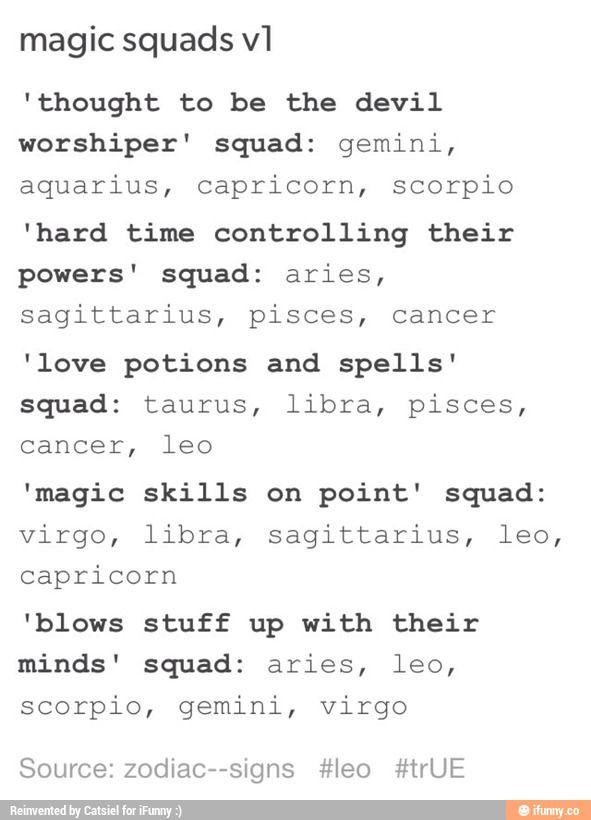 zodiac signs tumblr text posts - Google Search