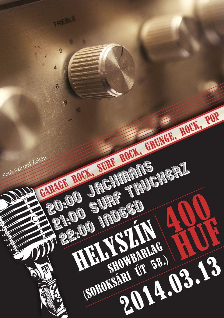 live rock flyer