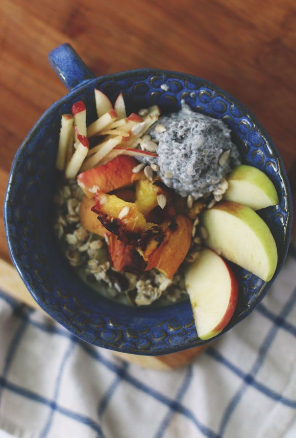 This Nutritious Muesli Recipe is a Swiss Variation on the Acai Bowl #breakfast trendhunter.com
