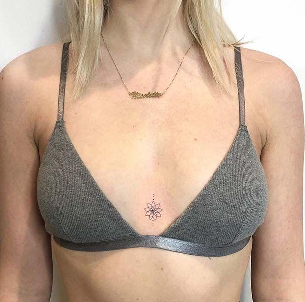 23 tatouages simples pour les femmes qui ont peur de s'engager   – Tattoos – Floral