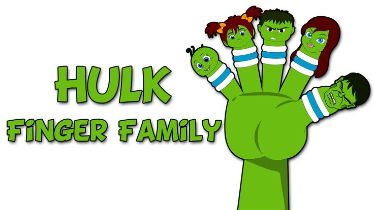 Hulk Finger Family by Kidz Rhymes