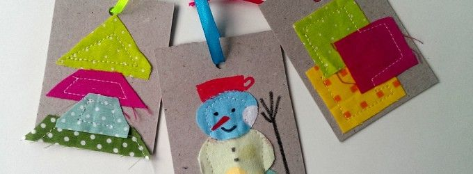 Menovky na vianočné balíčky