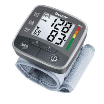 Voici le  Tensiomètre de poignet - Beurer BC 32 que vous trouverez au meilleur prix sur www.senup.com.     https://www.senup.com/tensiometre-de-poignet-beurer-bc-32-1783.html     À poignet.  Mesure automatique.  Valeurs mémorisables.  Détecte les arythmies.  Enregistre la pression artérielle matin et soir.