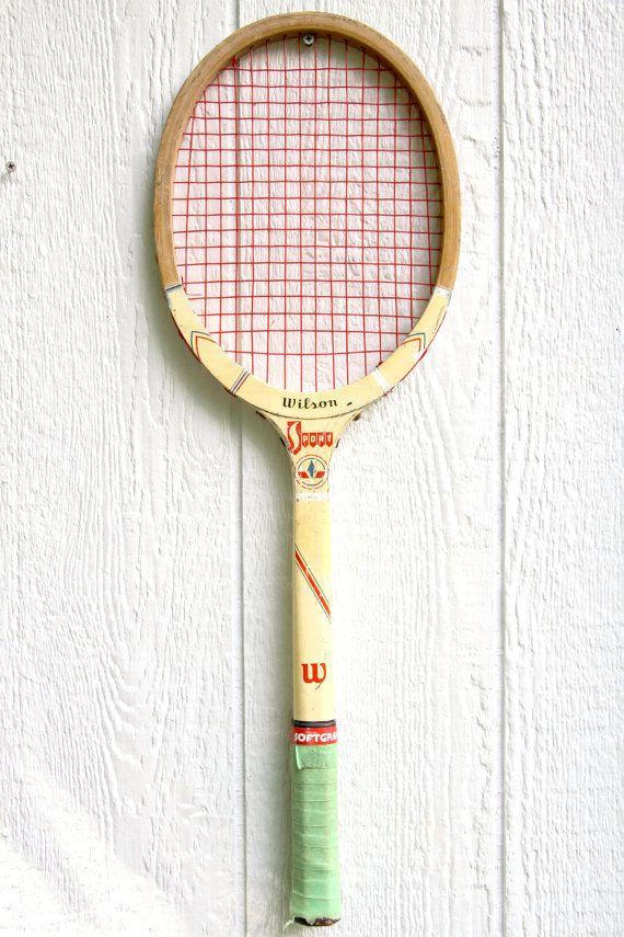 raquette de tennis wooden raquette de tennis vintage. Black Bedroom Furniture Sets. Home Design Ideas