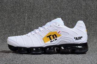 6db2d11139 Mens Nike Air Max Plus Tn Ultra Triple White Black Red Yellow 898015 100  Running Shoes