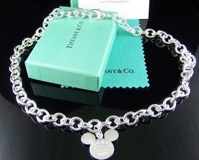 mickey mouse tiffany necklace