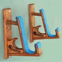 Impulse Surf provides the perfect solution to your board storage needs. Wall racks are hand made ...