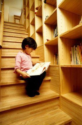 階段を活かした本棚でオシャレな住宅デザインまとめ - NAVER まとめ