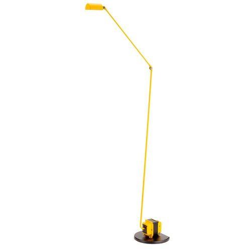 Yellow Daphine Terra LED Floor Lamp By Tommaso Cimini, from Lumina