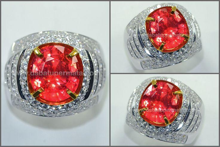 Sparkling Hot PADPHARASCHA Crystal Bling-Bling. TOP Quality  ( PP 101 )