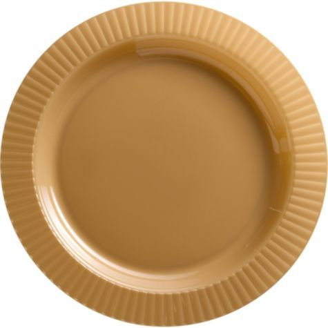 Gold Premium Plastic Dinner Plates 16ct Party City Idea For Charger Wedding Pinterest