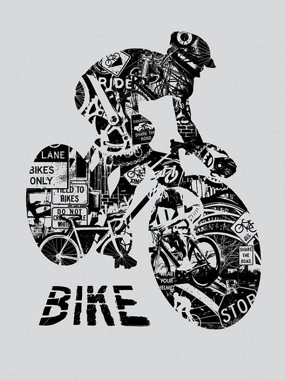 Bike Anatomy Bicycle Ride Helmet Race Critical Mass Silk by gigart, $30.00