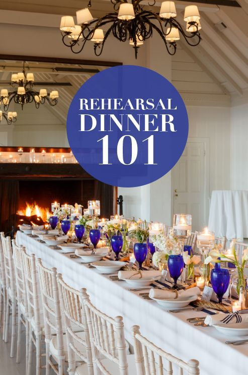 The wedding rehearsal dinner: Who hosts? Who pays? Who should you invite? Check out our tips: http://www.colincowieweddings.com/planning/rehearsal-dinner-101