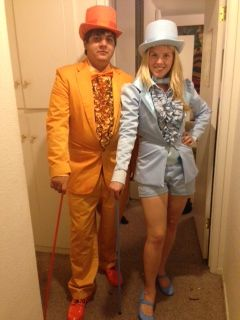 Dumb and Dumber couples costume #love #costume #couplescostume