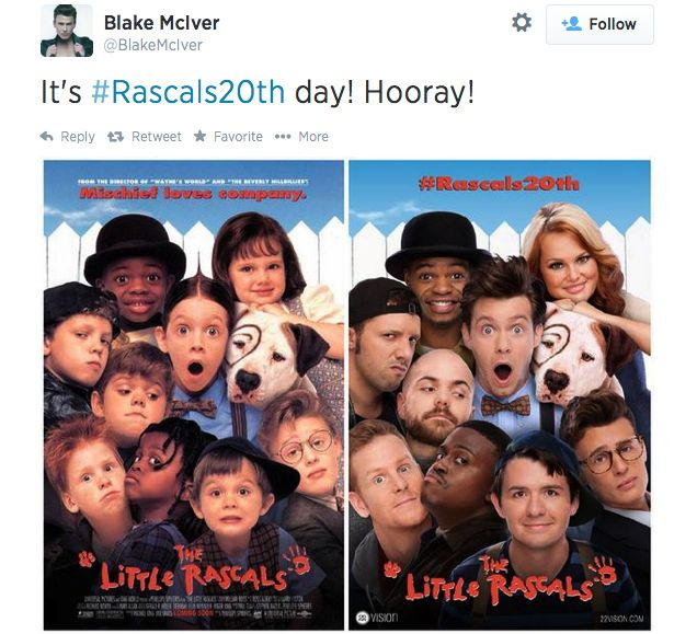 'The Little Rascals' Turns 20 with an Uncanny Recreation of the Original Movie Poster - Esquire