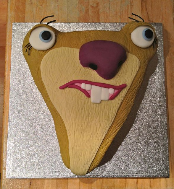 #SidtheSloth #IceAge #Cake by me thecharliecakes, via Flickr! https://www.facebook.com/charliecakes