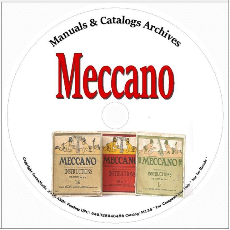 Meccano Manuals and Catalogs Collectors Edition 2 DVD Hobby Boy Engineering