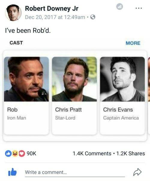 lol Robert Downey Jr