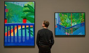 David Hockney retrospective becomes Tate Britain's most popular show | Art and design | The Guardian