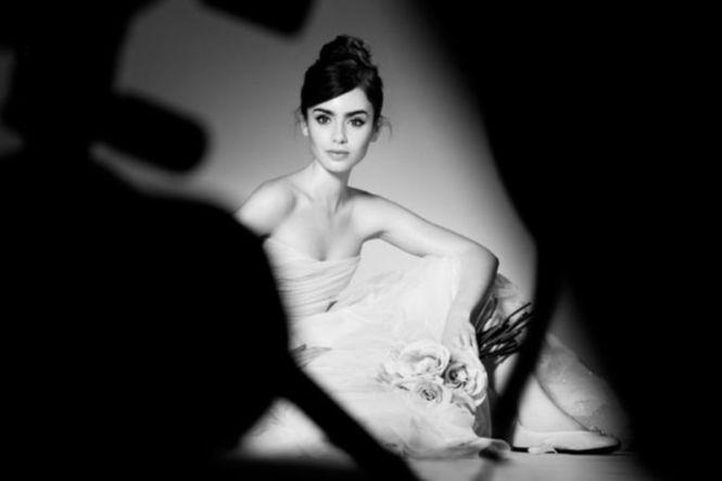 Lily Collins è il nuovo volto di Lancôme | Sposa Mania - Il magazine degli sposi Sposa Mania – Il magazine degli sposi