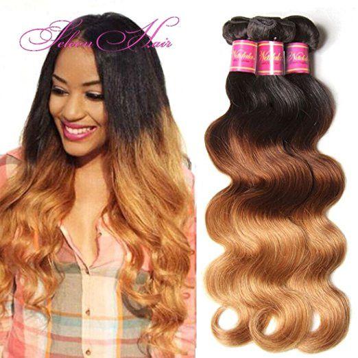 Best 25 cheap human hair ideas on pinterest cheap human hair seleonhair peruvian virgin wavy ombre body wave 3 bundles cheap human hair weaves 5054 pmusecretfo Image collections