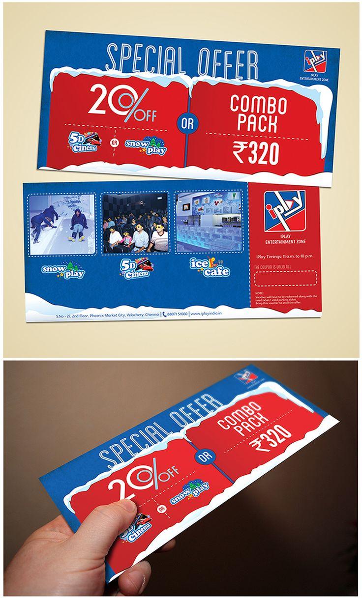 Voucher- Iplay   Offer | Print | Branding