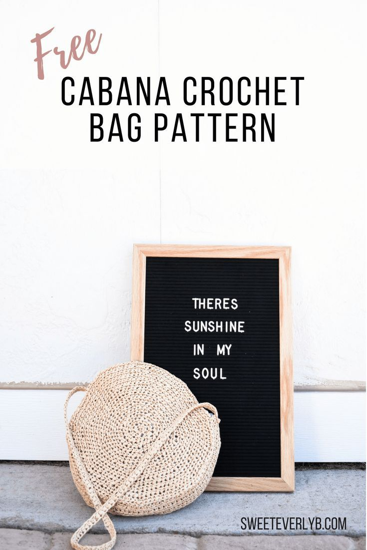The Best Crochet Bag Pattern To Make A Durable Raffia Tote ...