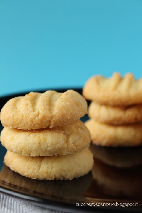 ::Zucchero e Zenzero::: Biscotti di semola al mandarino