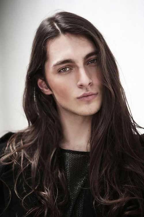 Long hair damien