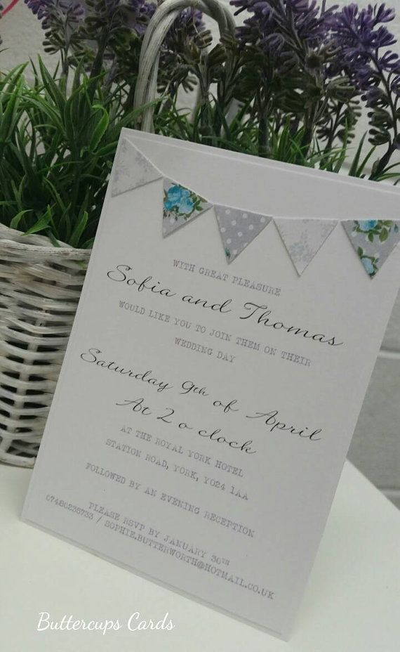 The 36 best Wedding Invitations images on Pinterest | Save the date ...