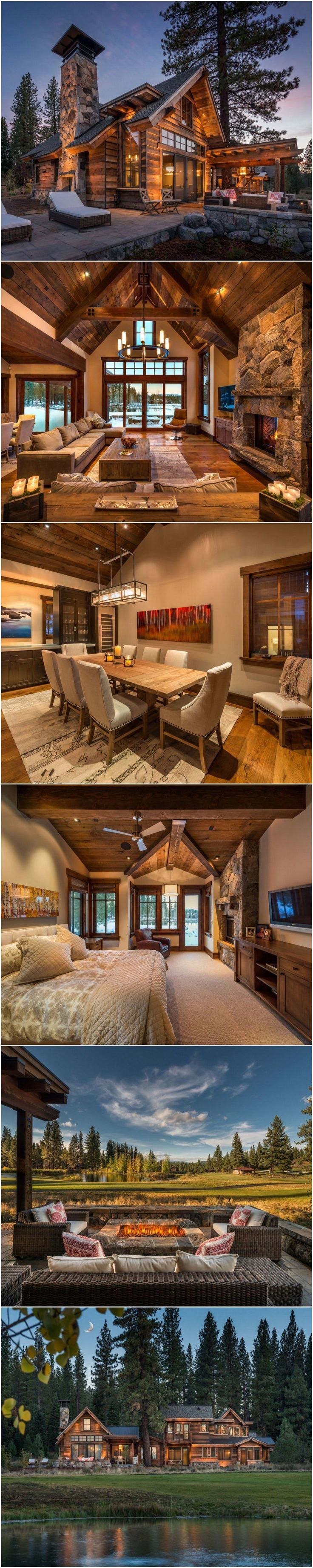 Flawless 50+ Best Cabin Style Design Ideas https://decoratio.co/2017/06/14/50-best-cabin-style-design-ideas/ There are two cuts for two corners. Nearly every part of furniture can be created in a rustic style. With a growing number of options in log cabin style nowadays,