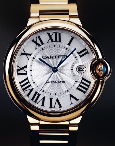 Cartier | Ballon Bleu de Cartier | Yellow Gold | Watch database watchtime.com