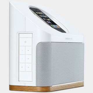 Conran Audio Speaker Dock for iPod/iPhone - White - Look good in my new kitchen!