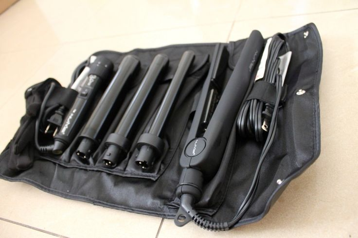 NuMe Curling Wand Set and straightener! Comes in the perfect traveling case! #Obsessed #Present #curlingwand #straightener #Beauty #Hairproducts