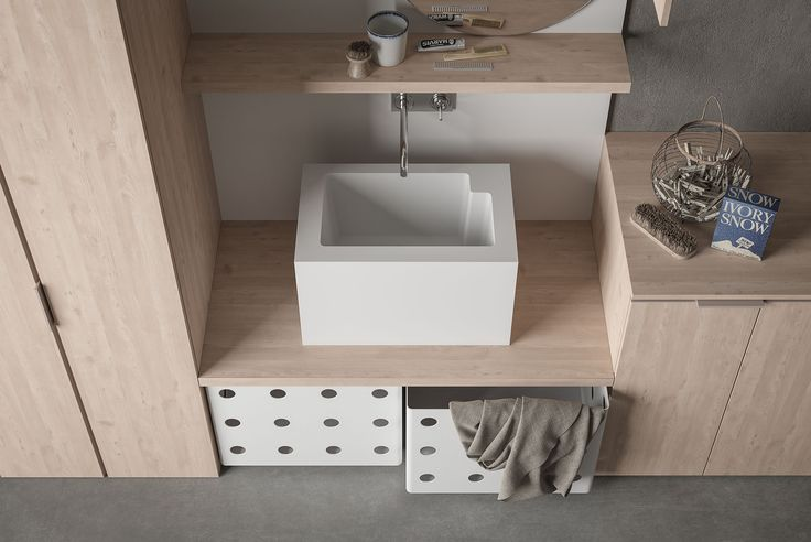 Novello - Drop ... perfect for laundry room