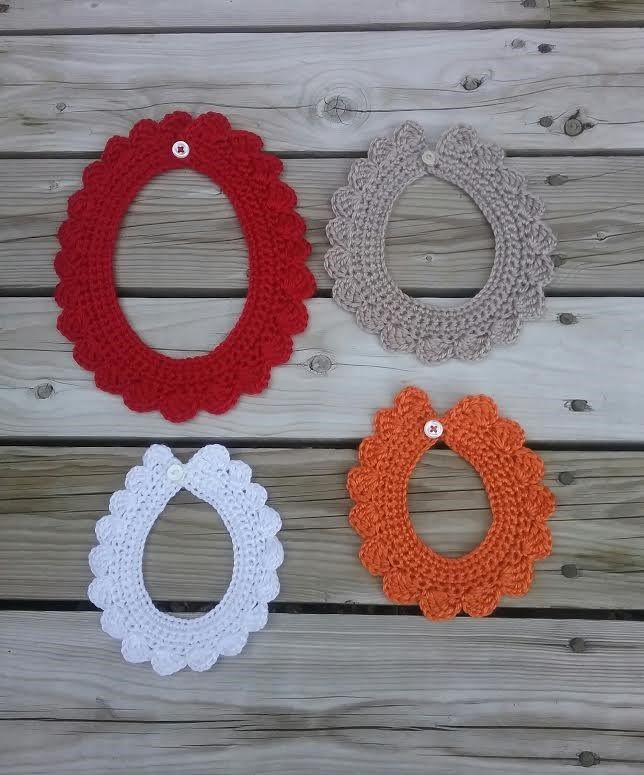 Crochet Collars for Babies to adults
