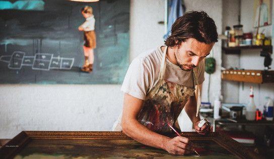Oliver Jeffers: Παραμυθάς, ζωγράφος, εικονογράφος « Εκδόσεις Ίκαρος – blog