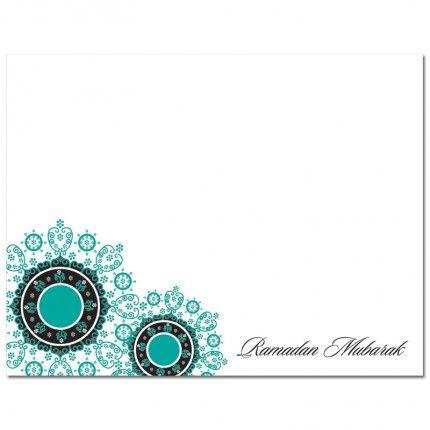 Ramadan Mubarak Cards from #Soulfulmoon-- Filigree Floral