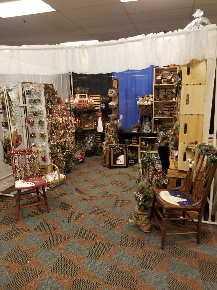 My booth at the 20th Annual Greater Pittsburgh Arts & Crafts Holiday Spectacular 2017
