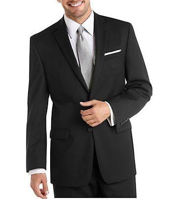 MEN'S BLACK MODERN SUIT: Men Suits Designer Men Wedding Suits | Suit2Suit.com