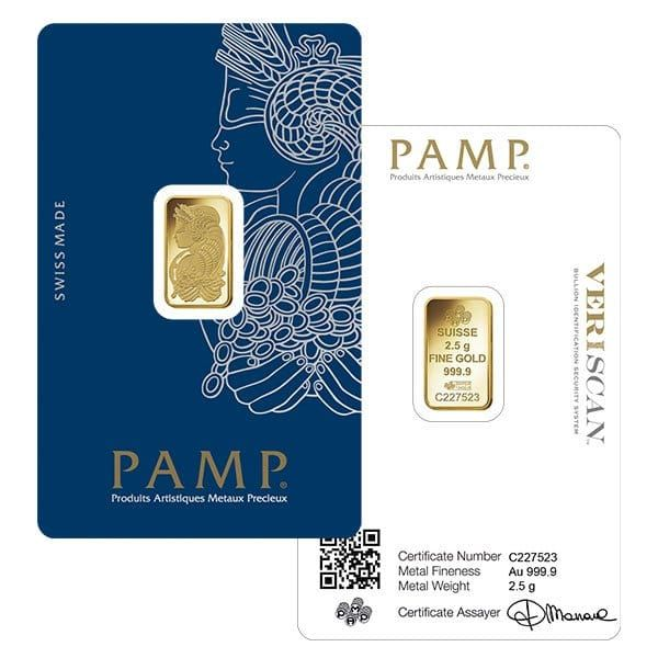 2 5 Gram Pamp Suisse Gold Bars For Sale Lowest Prices Money Metals Gold Bullion Bars Gold Bars For Sale Gold Bullion